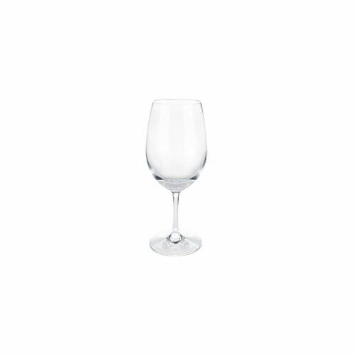 Shatterproof Plastic Wine Glass by True Perspective: back