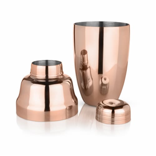 Copper Heavyweight Cocktail Shaker by Viski® Perspective: back