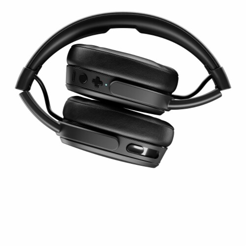 Skullcandy Crusher Wireless Bluetooth Headphones with Mic and Remote - Black Perspective: back