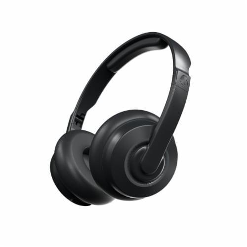 Skullcandy Cassette Wireless Bluetooth Headphones - Black Perspective: back