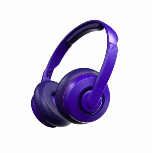Skullcandy Cassette Wireless Bluetooth Headphones - Purple Perspective: back