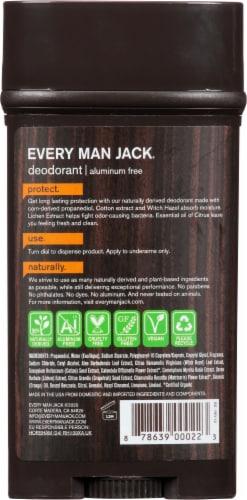 Every Man Jack Citrus Deodorant Perspective: back