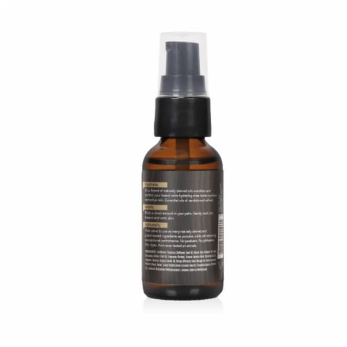 Every Man Jack Sandalwood Hydrating Beard Oil Perspective: back