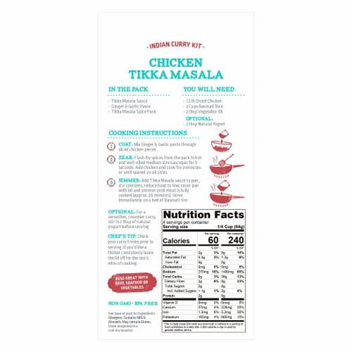 Street Kitchen Chicken Tikki Masala Indian Curry Kit Perspective: back