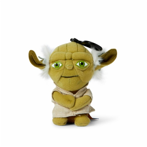 "Star Wars Mini 4"" Talking Plush Toy Clip On - Yoda Perspective: back"
