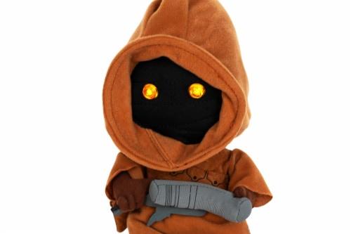"Stuffed Star Wars Plush Toy - 9"" Talking Jawa Doll Perspective: back"