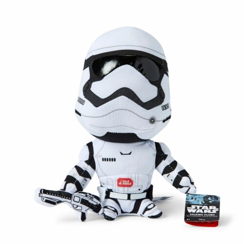 "Star Wars 9"" Talking Plush: Stormtrooper Perspective: back"