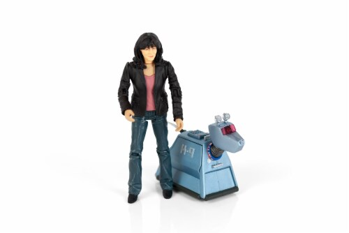 "Doctor Who 5.5"" Action Figure Set: Sarah Jane and K9 Perspective: back"