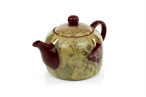 Harry Potter Marauder's Map Teapot | Decorative Collectible | 40-Ounce Capacity Perspective: back