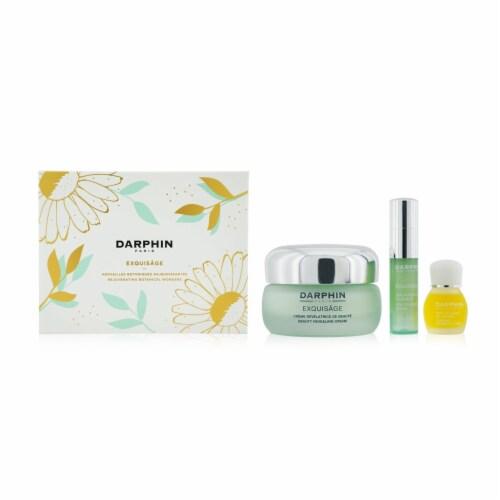 Exquisage Rejuvenating Botanical Wonders Set: Revealing Cream, Serum, Aromatic Care-3pc Perspective: back