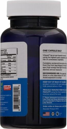 Viteyes Blue Light Defender+ Vitamin Capsules Perspective: back