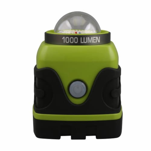 Tahoe Trails Camp Lantern - Green/Gray Perspective: back