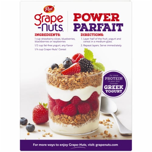 Post The Original Grape-Nuts Cereal Perspective: back