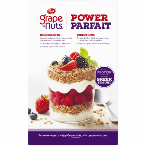 Post The Original Grape Nuts Cereal Perspective: back