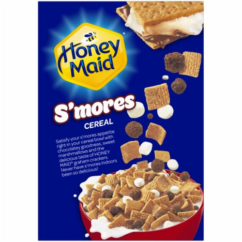Post® Honey Maid® S'mores Cereal Perspective: back