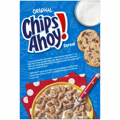 Chips Ahoy! Original Cereal Perspective: back