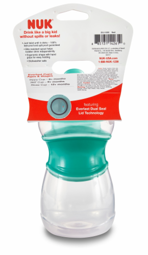 NUK Everlast Hard Spout Sippy Cup - Assorted Perspective: back