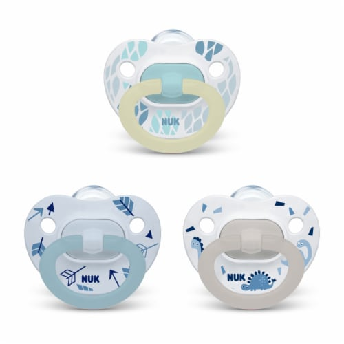 NUK Orthodontic Pacifier Value Pack Perspective: back