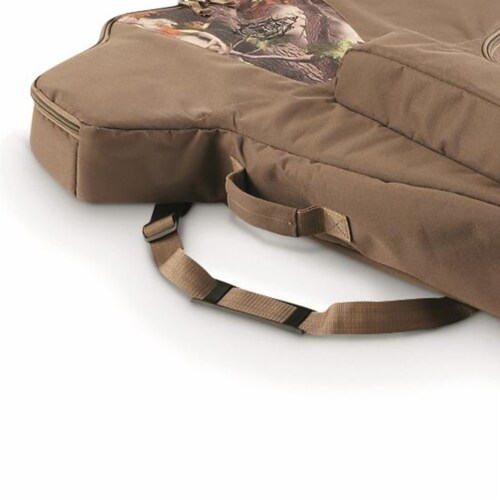 Guide Gear AKT-SL508 Deluxe Soft Sided Waterproof Padded Universal Crossbow Case Perspective: back