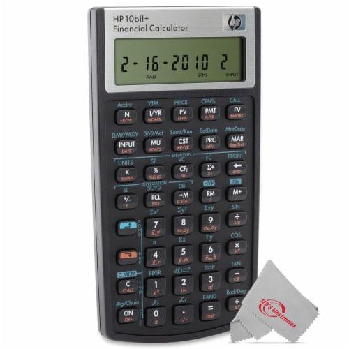 Hp 10bii+ Financial Calculator Perspective: back