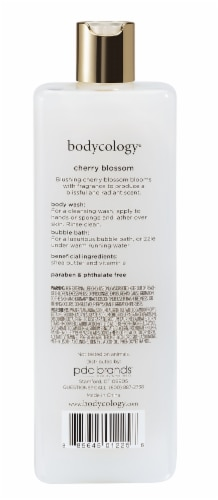 Bodycology Cherry Blossom Body Wash Perspective: back