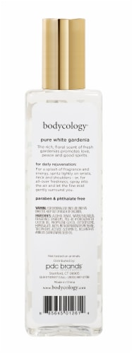Bodycology Pure White Gardenia Body Mist Perspective: back