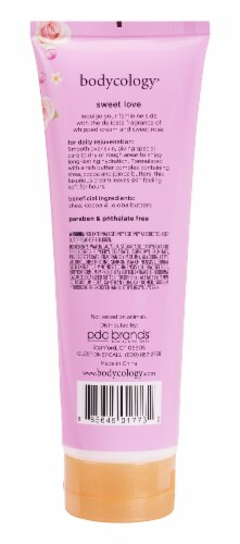 Bodycology Sweet Love Body Cream Perspective: back