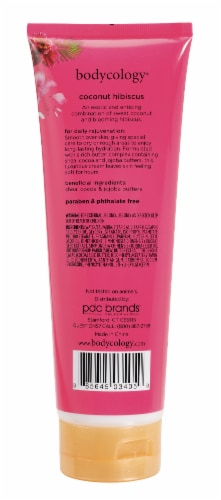 Bodycology Coconut Hibiscus Moisturizing Body Cream Perspective: back