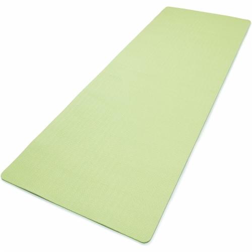Adidas Universal Exercise Slip Resistant Fitness Yoga Mat, 8mm, Aero Green Perspective: back