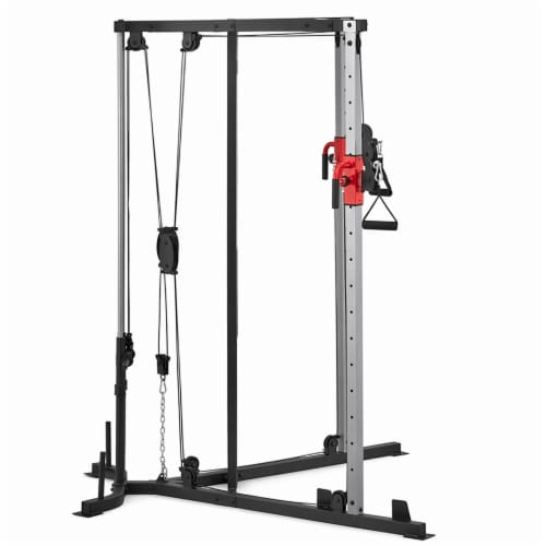 Adidas Sports Rig Versatile Strength Trainer Home Gym Exercise Equipment Machine Perspective: back