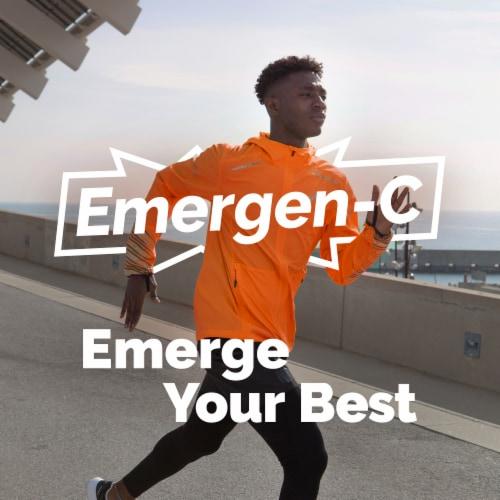 Emergen-C Elderberry Immune+ Vitamin C Dietary Supplement 50 mg Perspective: back