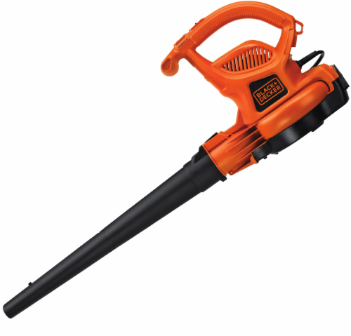 BLACK + DECKER 3-in-1 VacPack™ Leaf Blower Vacuum and Mulcher Perspective: back