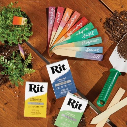 Rit Kelly Green 1-1/8 Oz. Powder Dye 83320 Perspective: back