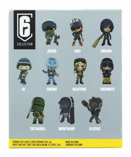 """Just Play Ubisoft Rainbow Six Seamus """"Sledge"""" Cowden Collectible Figure Perspective: back"""