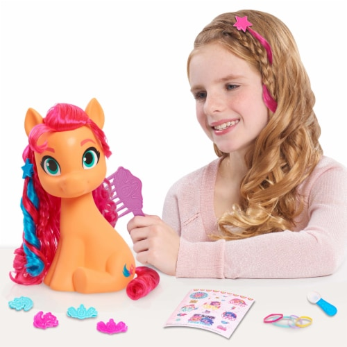 My Little Pony Sunny Style Pony Perspective: back