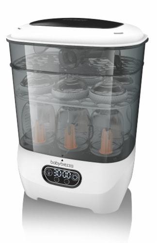 Baby Brezza Advanced Sterilizer Dryer Perspective: back