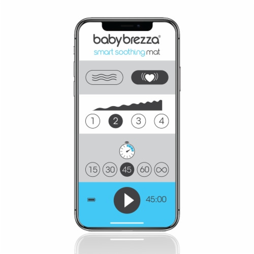 Baby Brezza Smart Soothing Mat Perspective: back