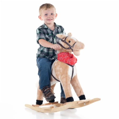 Happy Trails Dusty the Rocking Horse Perspective: back