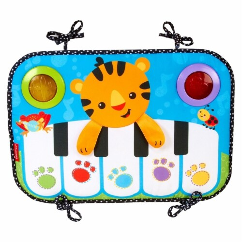 Fisher-Price Kick & Play Piano Baby Toy Perspective: back