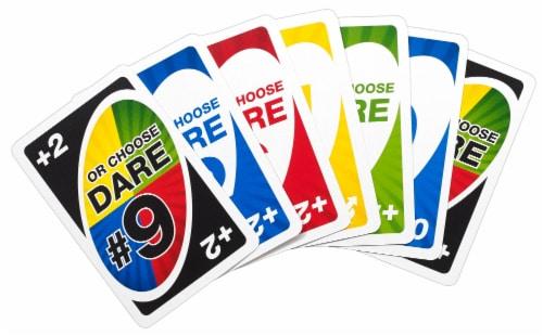 Mattel Uno Dare!™ Card Game Perspective: back