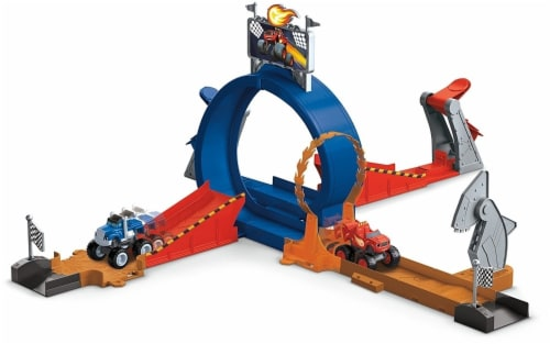 Fisher-Price Nickelodeon Blaze & the Monster Machines, Monster Dome Playset Perspective: back