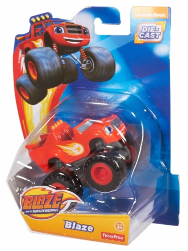 Fisher-Price® Nickelodeon Blaze and the Monster Machines Blaze Toy Perspective: back