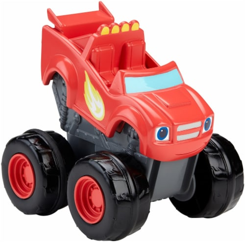 Fisher-Price® Blaze and the Monster Machines Slam & Go Blaze Vehicle Perspective: back