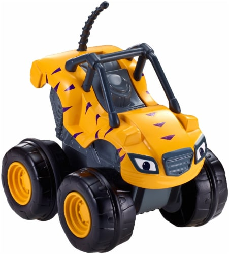 Fisher-Price® Blaze and the Monster Machines Slam & Go Stripes Vehicle Perspective: back