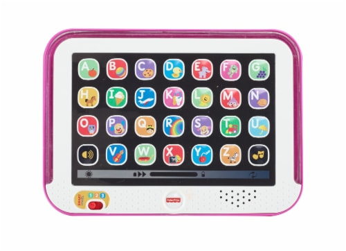 Fisher-Price® Laugh & Learn Smart Stages Toy Tablet - Pink Perspective: back