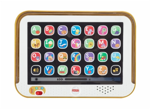 Fisher-Price® Laugh & Learn Smart Stages Toy Tablet - Gray Perspective: back