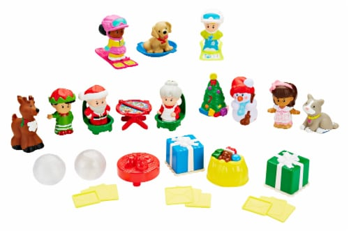 Fisher-Price® Little People® Advent Calendar Perspective: back