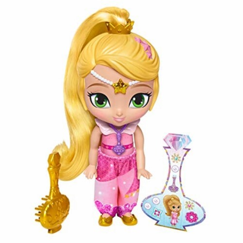 Fisher-Price Nickelodeon Shimmer & Shine - Genie Disguise Leah Perspective: back