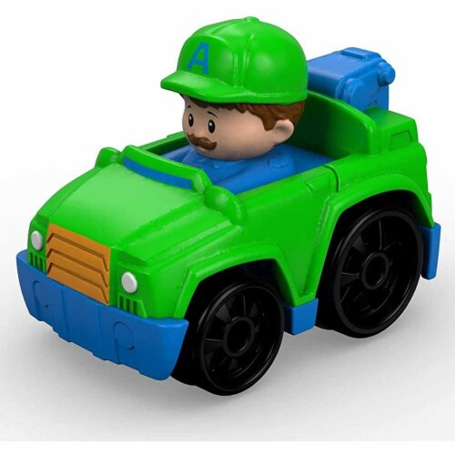 Fisher-Price® Little People Wheelies Tow Truck Perspective: back