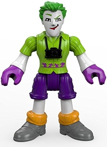 Fisher-Price® Imaginext The Joker Surprise Action Figure Perspective: back